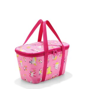Chladící taška Reisenthel Coolerbag XS kids Abc friends pink